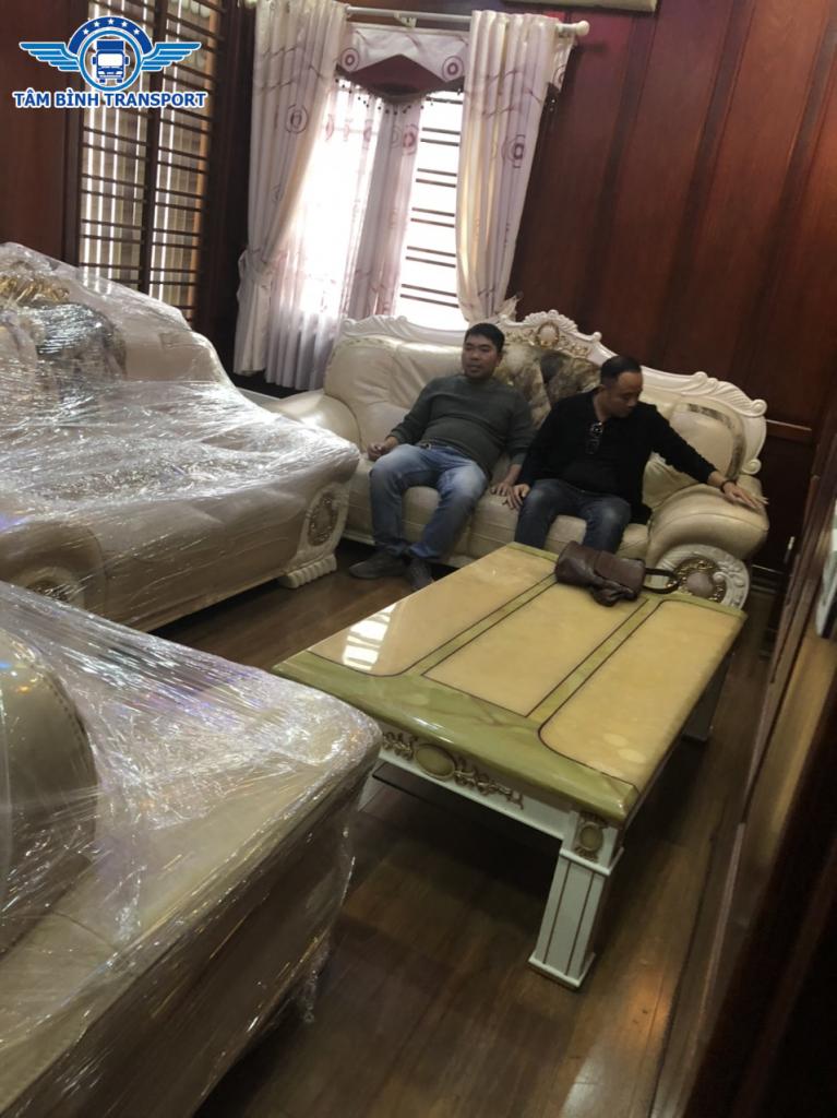 Dịch vụ chuyển nhà trọn gói giá rẻ chính hãng Tâm Bình